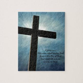 I John 4:15 Jigsaw Puzzle