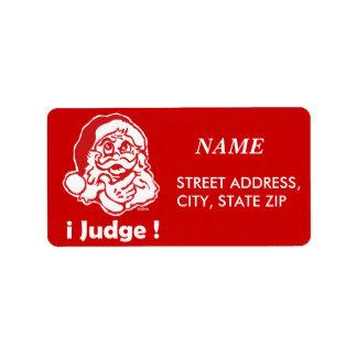 i judge address label