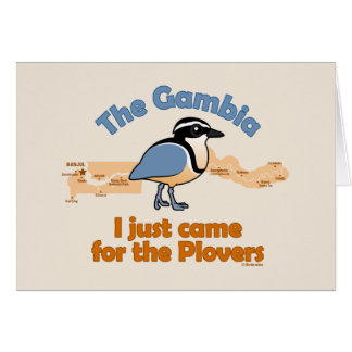 I Just Came for the Plovers Card