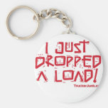 I Just Dropped a Load Basic Round Button Keychain
