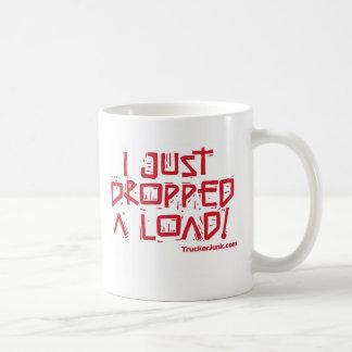 I Just Dropped a Load Classic White Coffee Mug