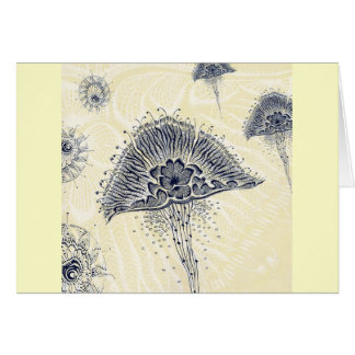I JUST FLOAT FROM DAY TO DAY. GREETING CARD