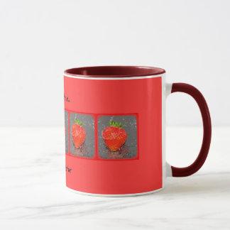 I just love strawberries! mug