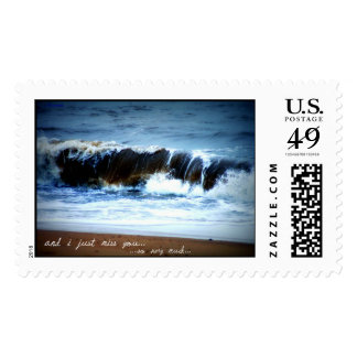 I Just Miss You So Very Much USPS postage stamp