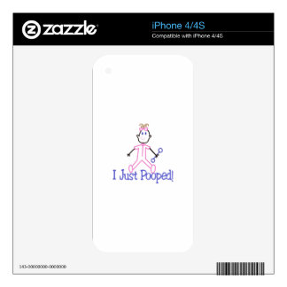I Just Pooped Skins For iPhone 4S