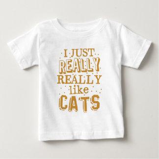 i just really really like cats baby T-Shirt