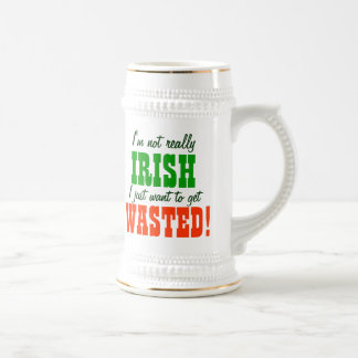 I Just Want to Get Wasted Mugs