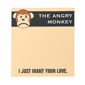 I Just Want You to Love me Notepad