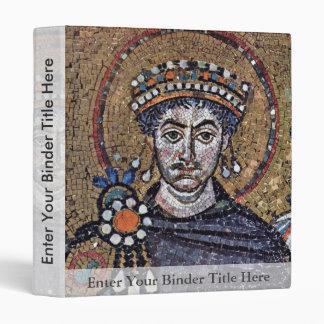 I justiniano, mosaicos A del coro de San Vitale (R