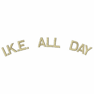 I.K.E. ALL DAY EMBROIDERED HOODIES