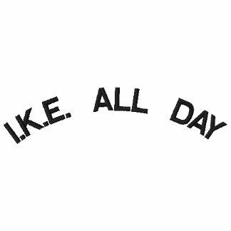 I.K.E. ALL DAY EMBROIDERED POLO SHIRT