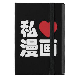 I kanji del japonés de //Nihongo del 漫画 de Manga iPad Mini Carcasa
