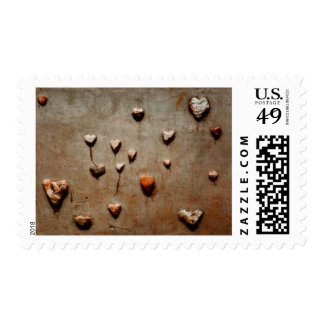 """I Keep Meeting Cold Stone Hearts"" - Postage Stamp"