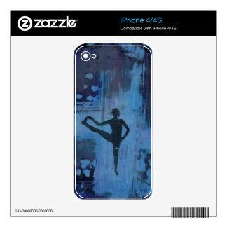 I Keep My Balance Yoga Girl Skins For iPhone 4S