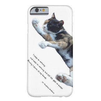 I keep ON working…(English edition) Barely There iPhone 6 Case