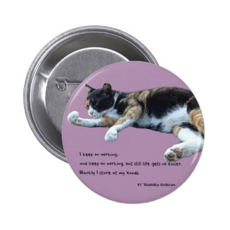 I keep ON working…(English edition) Pinback Button