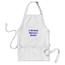 I Kicked Parvos Butt Adult Apron