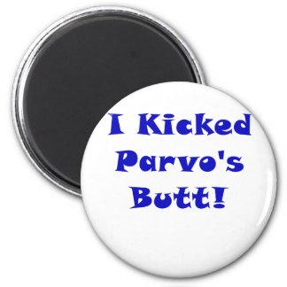 I Kicked Parvos Butt Magnet