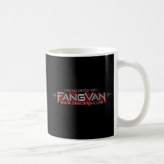 """I Kickstarted the FangVan"" Official Coffee Mug"