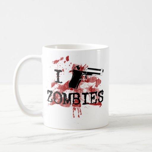 I Kill Zombies Coffee Mugs