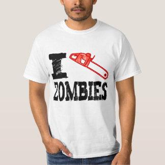 I Kill Zombies Using Chainsaw T-Shirt