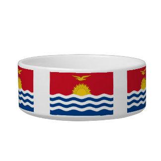 I-Kiribati Flag Cat Bowl
