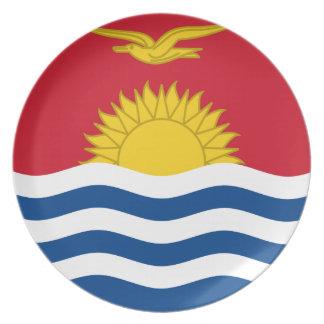 I-Kiribati Flag Dinner Plates