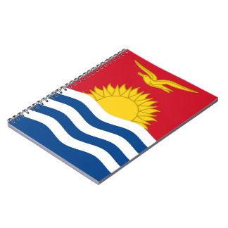I-Kiribati Flag Spiral Notebook