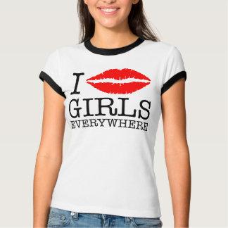I KISS GIRLS EVERYWHERE T-Shirt