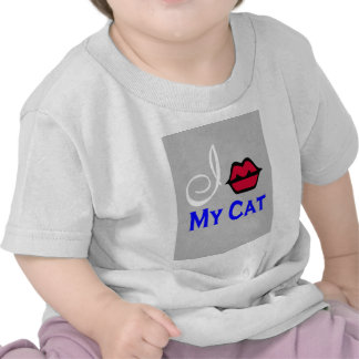 """I Kiss My Cat For Rescue"" Tee Shirts"