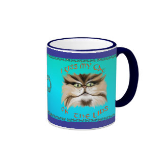 I Kiss My Cat On The Lips Mug