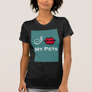 """I Kiss My Pets For Animal Rescue"" Tees"