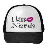I Kiss Nerds Mesh Hats