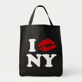 I Kiss New York Tote Bag
