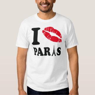 I kiss Paris T-shirt