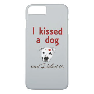I Kissed a Dog iPhone 7 Plus Case