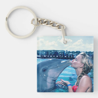 I KISSED A DOLPHIN # Miss Multiverse Keychain Fr