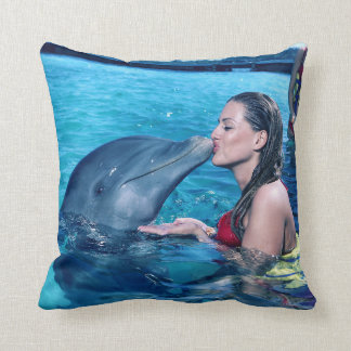 I KISSED A DOLPHIN # Miss Multiverse Pillow