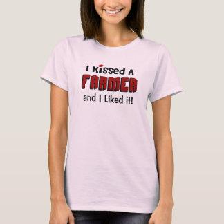 I Kissed a Farmer T-Shirt