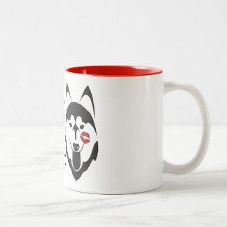 """""""I kissed a Husky and I liked It"""" Coffee Mug"""