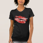 I kissed a Squirrel and I liked it! - Red/Black Tshirts