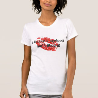 I kissed a squirrel and I liked it! - White/Red Shirts