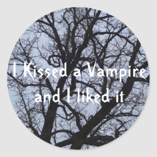 I Kissed a Vampire and I liked It Stickers