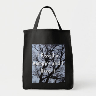 I Kissed a Vampire and I liked It Tote Bag
