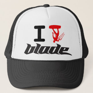 i kite blade trucker hat