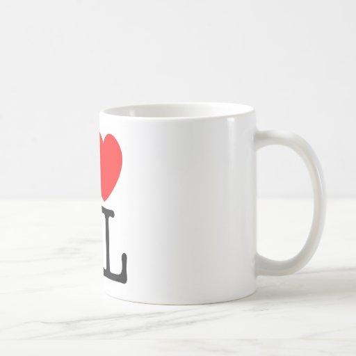 I♥KL CLASSIC WHITE COFFEE MUG