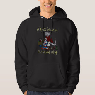 I knit because I cannot stop Hoodie