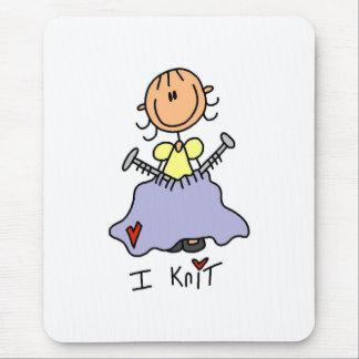 I Knit Mouse Pad