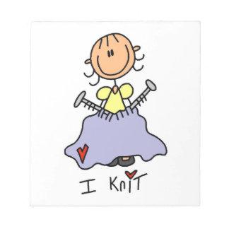 I Knit Notepad