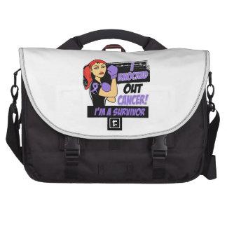 I Knocked Out Hodgkins Lymphoma Bag For Laptop
